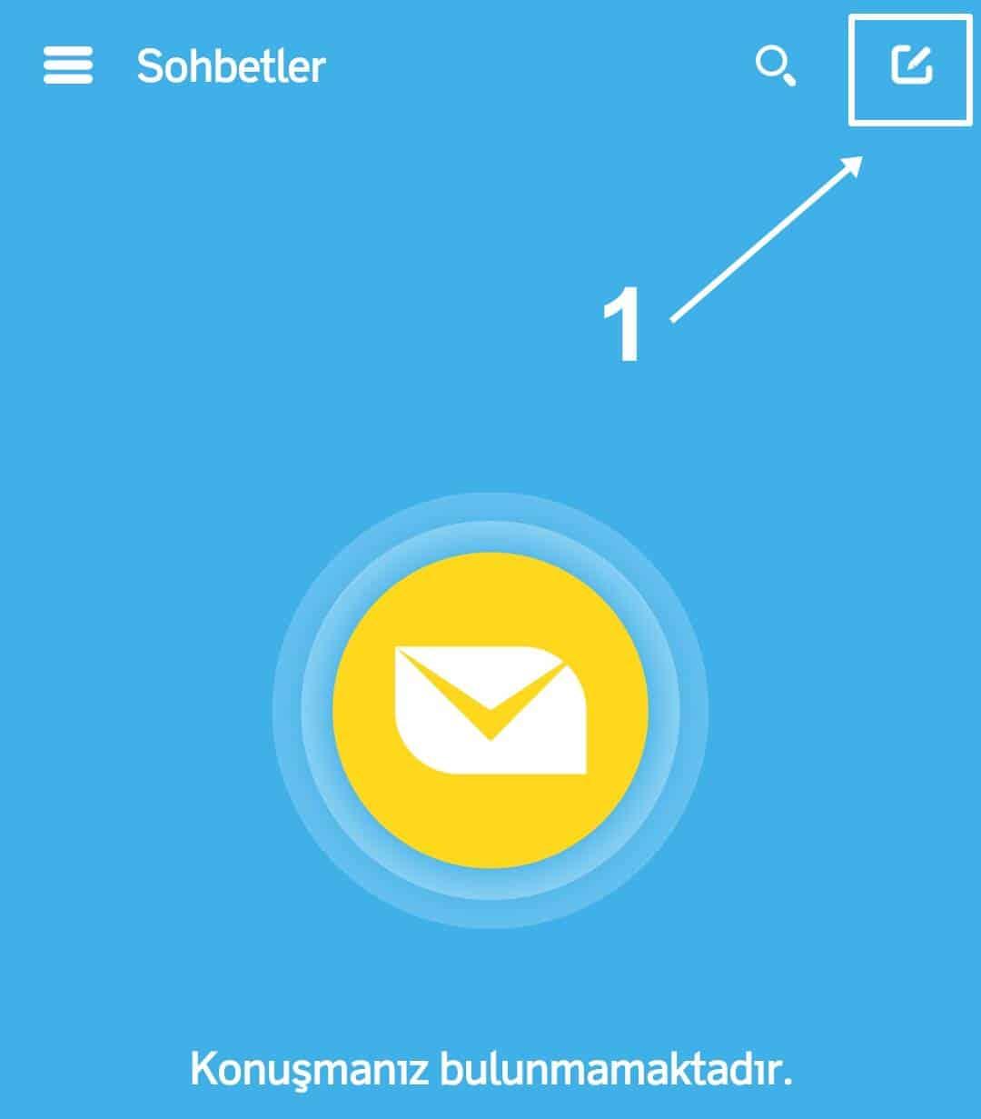 Bip Messenger Grup Kurma İşlemi