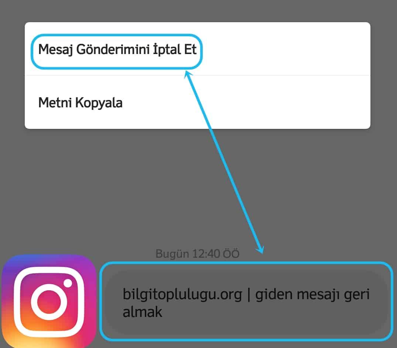Instagram Giden Mesajı Nasıl Silebilirim?