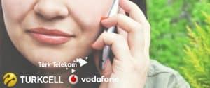 Turkcell – Vodafone- Türk Telekom Gizliden Arama