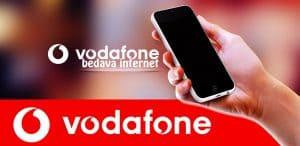 Vodafone Bedava İnternet 2019