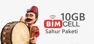 Bimcell Sahur Paketi