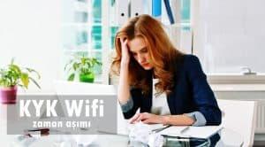 KYK Wifi Zaman Aşımı