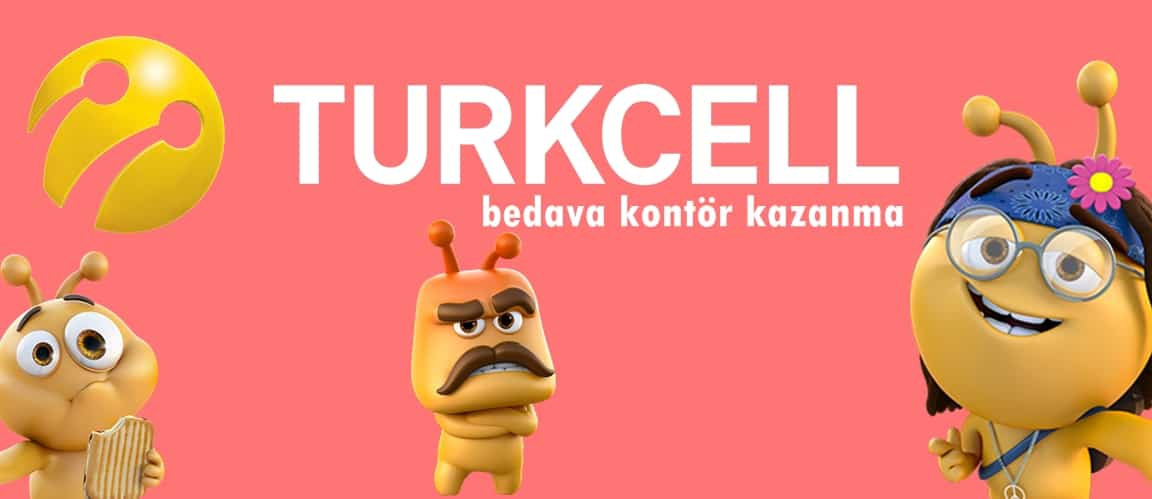 Turkcell Bedava Kontör Kazanma