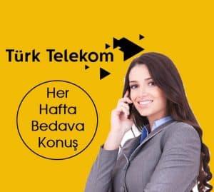 Türk Telekom Hediye Konuşma Paketi