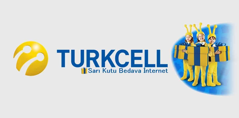Turkcell Sarı Kutu Bedava İnternet Paketleri