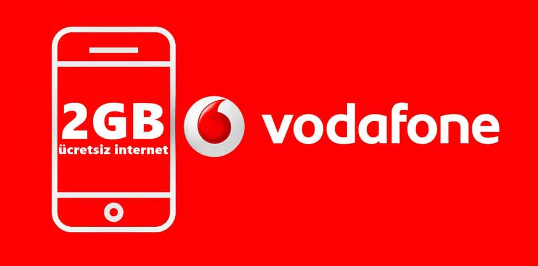 Vodafone Faturasız 2GB Bedava İnternet Nasıl Yapılır?