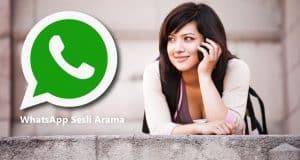WhatsApp'ta Sesli Görüşmede Çevrimiçi Olayı