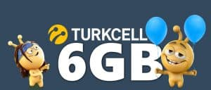 Turkcell Tavsiye Et 6GB Bedava İnternet Kazan
