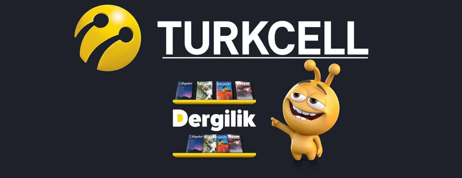 Turkcell Dergilik 1GB Hediye İnternet Paketi