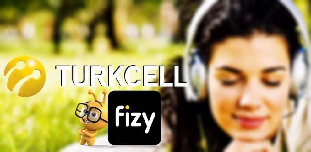 Turkcell fizy Dinledikçe Bedava İnternet Kazan