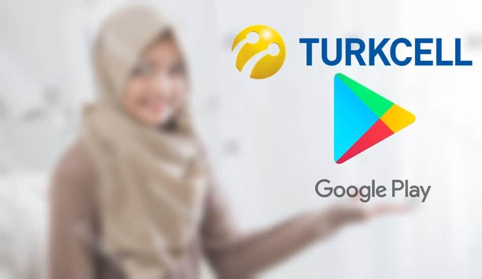 Turkcell Google Play 5 - 10TL Hediye Kartı