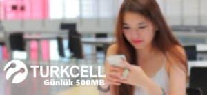 Turkcell Hızlı Giriş 500 MB Bedava İnternet Kampanyası
