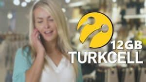 Turkcell Yeni Gelenlere 12GB Hediye İnternet Kampanyası