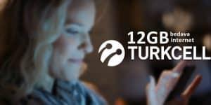 Turkcell Haydi Gel Kampanyası 12 GB Bedava İnternet