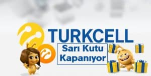 Turkcell Sarı Kutu Servisi Kapanıyor Mu?