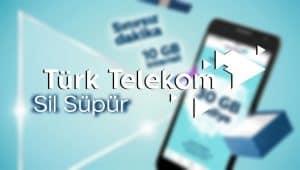 Türk Telekom Online İşlemler Sil Süpür Kampanyası