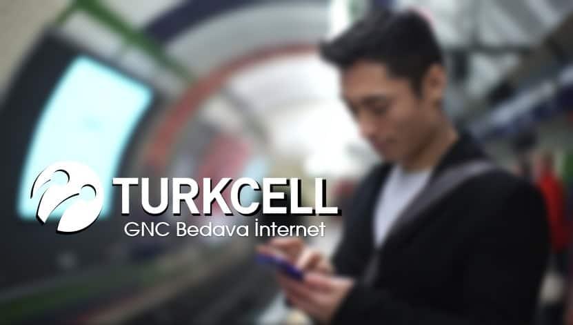 Turkcell GNC Bedava İnternet Kampanyası