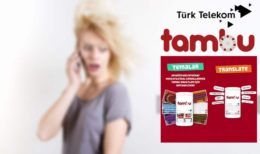 Türk Telekom Tambu 1 GB Bedava internet Paketi