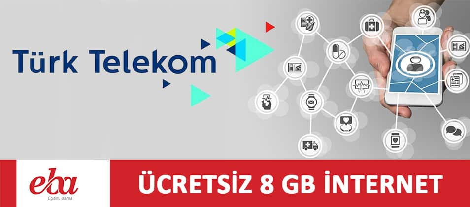 Türk Telekom EBA 8 GB İnternet Kampanyası